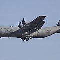 C-130j Super Hercules Of The 86th by Timm Ziegenthaler