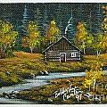 Cabin In The Woods by Bobbylee Farrier