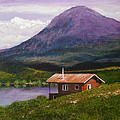 Cabin On Tangle Lake by Bill Brown