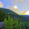 Cabin On The Mountain - Vail by Madeline Ellis