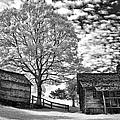Cabin Under Buttermilk Skies I by Dan Carmichael
