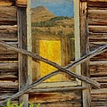 Cabin Windows by Jeffrey Kolker