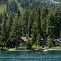 Cabins On The Lake Tahoe by LeeAnn McLaneGoetz McLaneGoetzStudioLLCcom