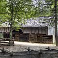 Cable Mill Barn Cades Cove by Mike Aldridge