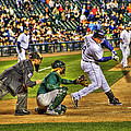 Cabrera Grand Slam by Nicholas  Grunas