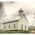 Cades Cove Methodist by Michael Hodges
