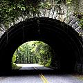 Cades Cove Tunnel by Mike Aldridge