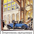 Cadillac Ad, 1927 by Granger