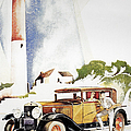 Cadillac Ad, 1929 by Granger