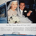 Cadillac Ad, 1955 by Granger