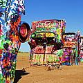 Cadillac Ranch 2  by Lana Trussell