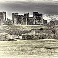 Caerphilly Castle Cream by Steve Purnell