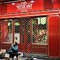 Cafe De Mexicana Panhandlers by Lorraine Devon Wilke