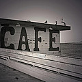 Cafe On The Pier by Kelly Holm