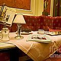 Cafe Sacher - Vienna by Madeline Ellis