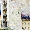 Cagliari - Torre Dell'elefante by Giovanni Marco Sassu