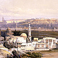 Cairo From The Gate Of Citizenib  Looking Toward The Desert Of Suez by Munir Alawi