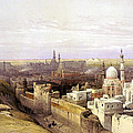 Cairo From The West by Munir Alawi