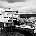Caledonian Macbrayne Rothesay Ferry At Wemyss Bay Scotland Uk by Joe Fox