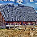 Calgary Barn Hdr by Randy Harris
