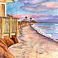 California Coast by Clara Sue Beym