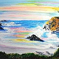 California Coast by Susan  Clark