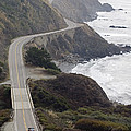 California Highway 1 Or Pacific Coast by Rich Reid