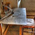 California Mission La Purisima Desk by Bob Christopher