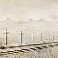 California Railroad by Julie Niemela