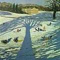 Calke Abbey House by Andrew Macara