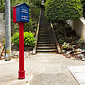 Call Box With Stairs by Grant Groberg