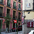 Calle De Vergara Madrid by Lorraine Devon Wilke