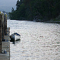 Calm waters on Hood Canal Washington