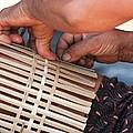 Cambodian Basket Weaver by Nola Lee Kelsey