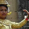 Cambodian Dancer by Bob Christopher