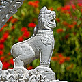 Cambodian Lion by David Freuthal