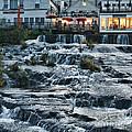 Camden Maine Waterfalls by Jack Schultz