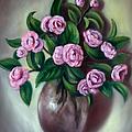 Camellias by Randy Burns