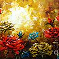 Camellias by Uma Devi