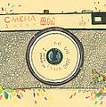 Cameras Retro by Viki Vehnovsky