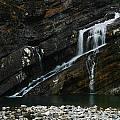 Cameron Falls Waterton Lakes National Park by Benjamin Dahl