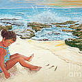 Camila And The Carribean Sea by Jim Barber Hove