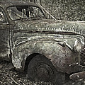Camouflage Classic Car by John Stephens