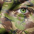 Camouflage Warrior by Semmick Photo