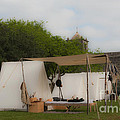 Camp At Goliad by Kim Henderson