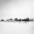 Canada - Naskapi Camp 1882 by Granger
