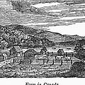 Canada: Farm, C1820 by Granger