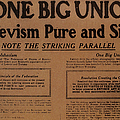 Canada: One Big Union, 1919 by Granger