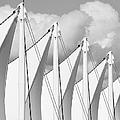 Canada Place Sails by Chris Dutton