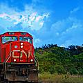 Canadian Northern Railway Train by Ms Judi